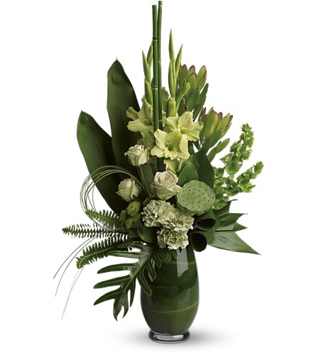 Limelight Bouquet in Fontana CA, Mullens Flowers