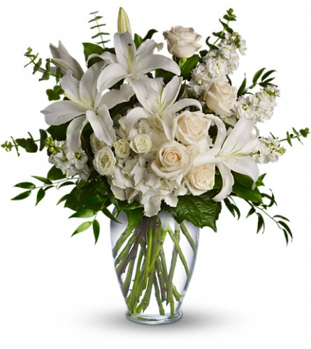 Dreams From the Heart Bouquet in Timmins ON, Heartfelt Sympathy Flowers