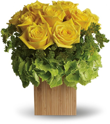 Teleflora's Box of Sunshine in Arlington TX, Country Florist