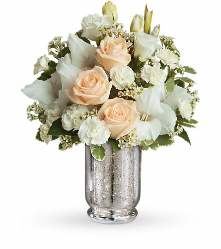 Teleflora's Recipe for Romance in Royersford PA, Three Peas In A Pod Florist