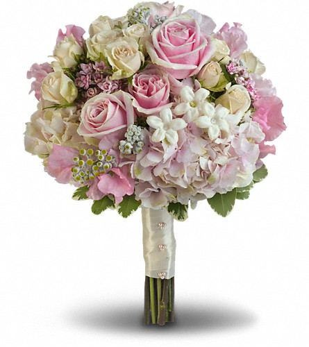 Pink Rose Splendor Bouquet in Morgantown WV, Coombs Flowers