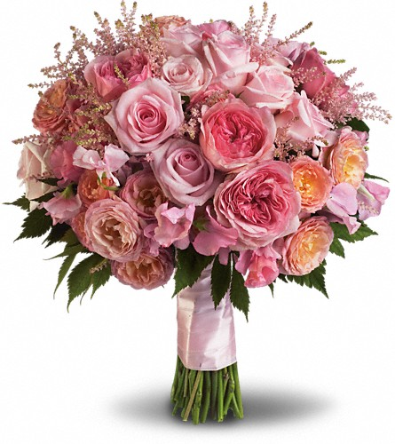 Pink Rose Garden Bouquet in Hamilton OH, Gray The Florist, Inc.