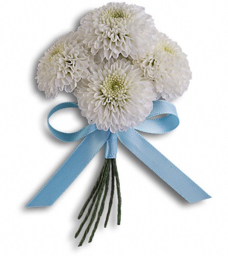 Country Romance Boutonniere in Oklahoma City OK, Capitol Hill Florist and Gifts