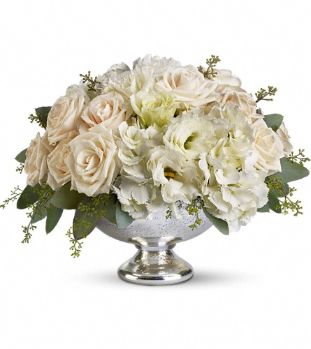 Teleflora's Park Avenue Centerpiece in West Boylston MA, Flowerland Inc.