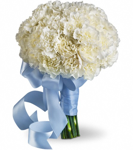 Sweet White Bouquet in Santa Monica CA, Edelweiss Flower Boutique
