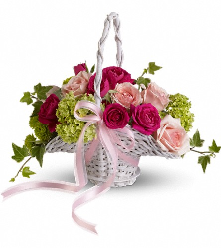 Flower Girl's Dream Basket in Richmond Hill ON, FlowerSmart