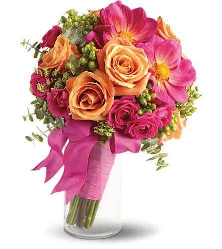 Passionate Embrace Bouquet in Naples FL, Gene's 5th Ave Florist