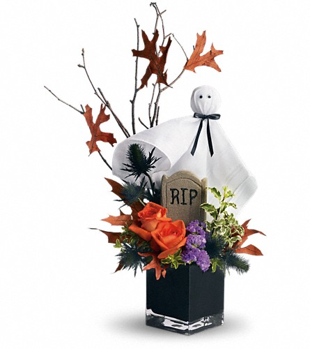 Teleflora's Ghostly Gardens in Liverpool NY, Creative Florist