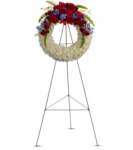 Reflections of Glory Wreath in Albany NY, Emil J. Nagengast Florist