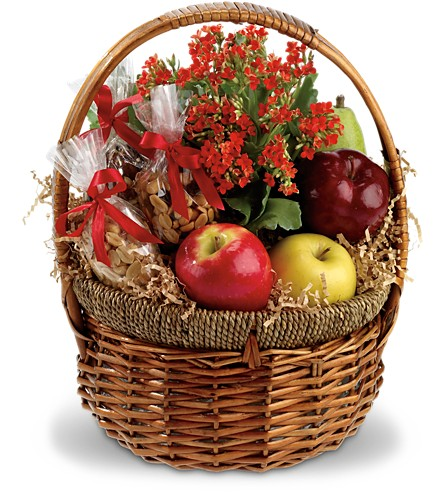 Health Nut Basket - Deluxe in Fort Worth TX, TCU Florist
