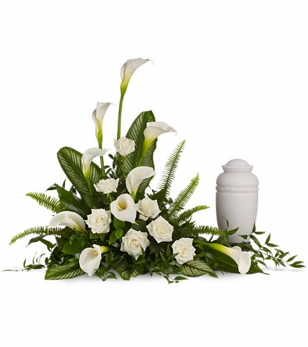 Stately Lilies in Timmins ON, Heartfelt Sympathy Flowers