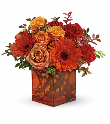 Teleflora's Sunrise Sunset in Kokomo IN, Jefferson House Floral, Inc