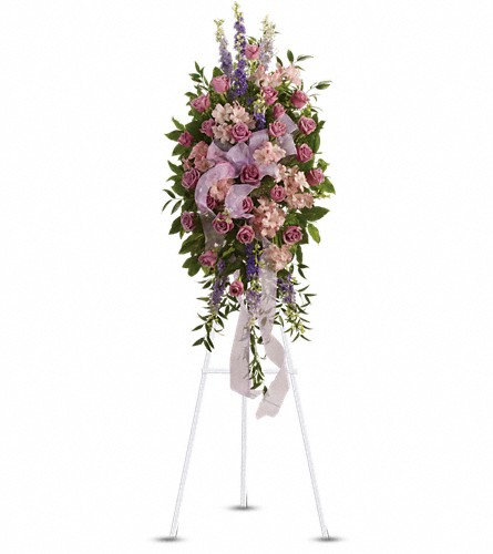 Finest Farewell Spray in Grand Falls/Sault NB, Grand Falls Florist LTD
