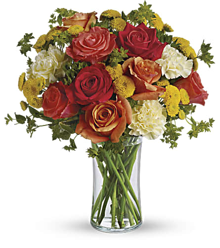 Citrus Kissed in Beaumont TX, Blooms by Claybar Floral