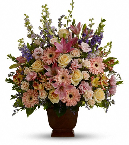 Teleflora's Loving Grace in Abington MA, The Hutcheon's Flower Co, Inc.