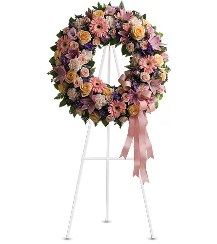 Graceful Wreath in Needham MA, Needham Florist