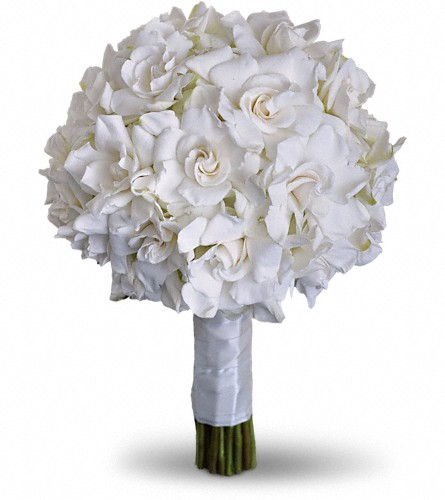 Gardenia and Grace Bouquet in Santa Monica CA, Edelweiss Flower Boutique