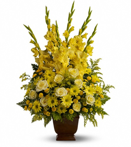 Teleflora's Sunny Memories in Winthrop MA, Christopher's Flowers