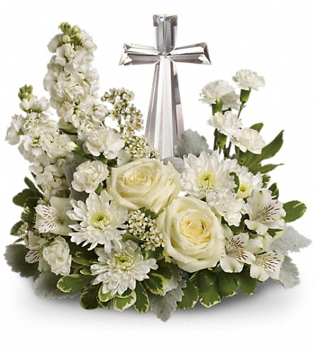 Teleflora's Divine Peace Bouquet in Big Rapids MI, Patterson's Flowers, Inc.