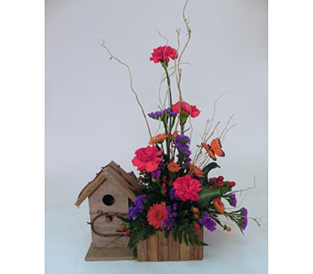 Birdhouse in Indianapolis IN, Gillespie Florists