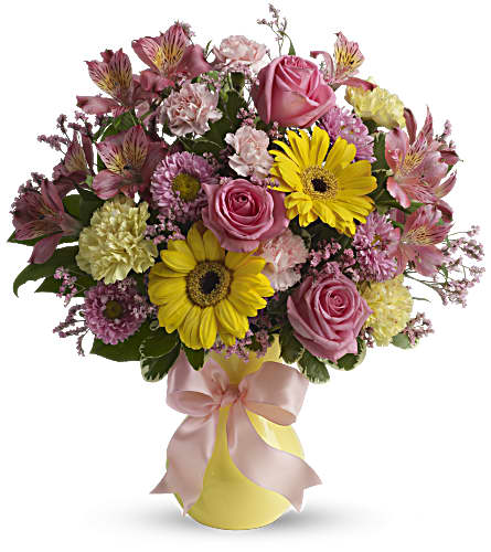 Darling Dreams Bouquet by Teleflora in Alliston, New Tecumseth ON, Bern's Flowers & Gifts