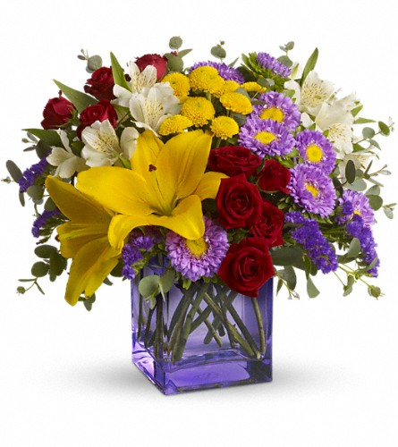 Stir Things Up Bouquet by Teleflora in DeKalb IL, Glidden Campus Florist & Greenhouse