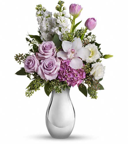 Teleflora's Breathless Bouquet in Boynton Beach FL, Boynton Villager Florist