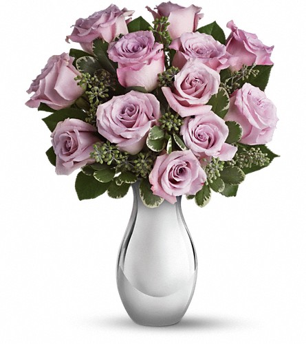 Teleflora's Roses and Moonlight Bouquet in Reno NV, Bumblebee Blooms Flower Boutique