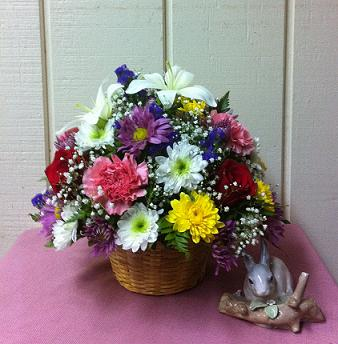 Stein Round Arrangement in Burlington NJ, Stein Your Florist
