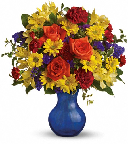 Teleflora's Three Cheers for You! in Woodbridge NJ, Floral Expressions