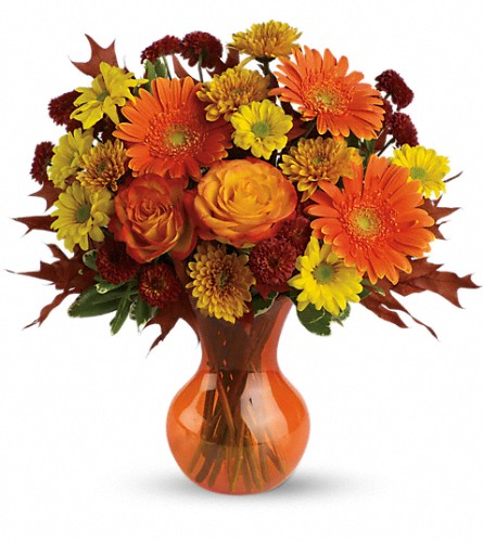 Teleflora's Forever Fall in Jackson NJ, April Showers