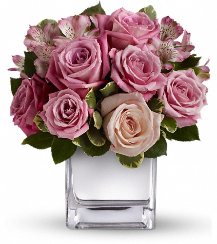 Teleflora's Rose Rendezvous Bouquet in Richmond BC, Touch of Flowers