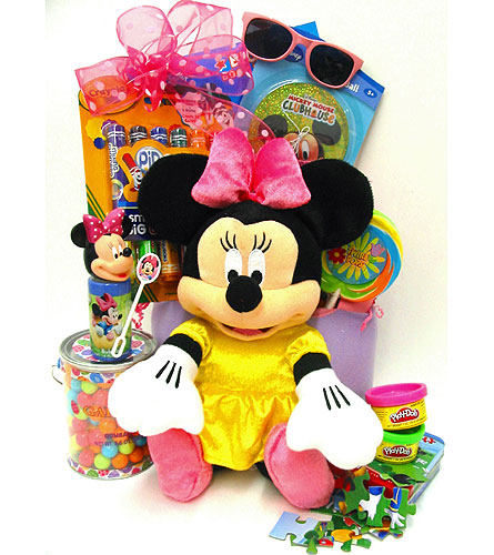 KGB34  ''Minnie Mouse'' Gift Basket in Oklahoma City OK, Array of Flowers & Gifts