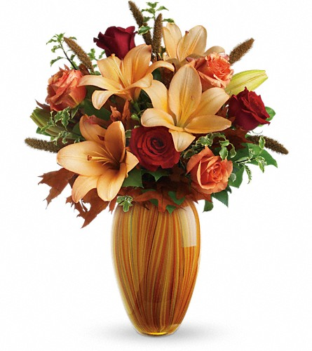 Teleflora's Sunlit Beauty Bouquet in Oklahoma City OK, Array of Flowers & Gifts
