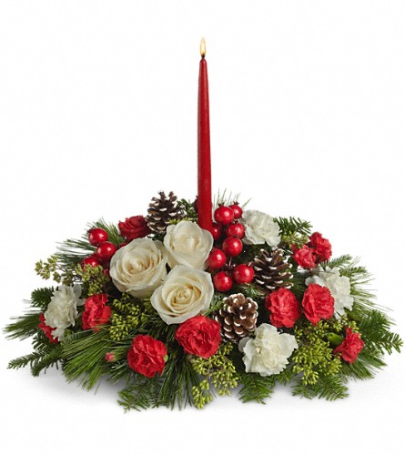 Christmas Aglow in Bakersfield CA, White Oaks Florist