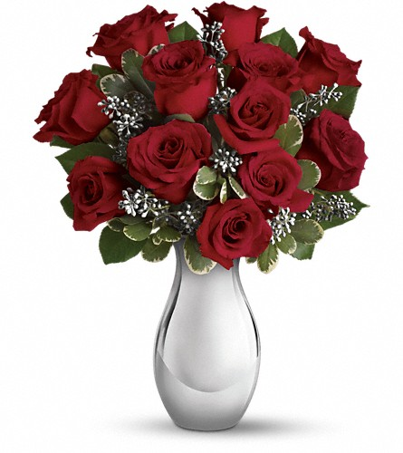 Teleflora's Winter Grace Bouquet in San Bruno CA, San Bruno Flower Fashions