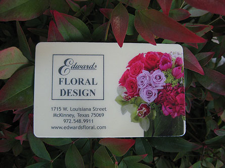 Gift Card in McKinney TX, Edwards Floral Design