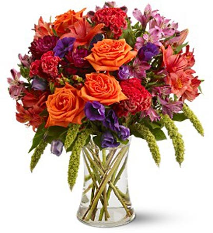 Autumn Gemstone in New York NY, Fellan Florists Floral Galleria