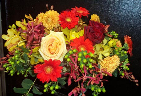 Autumn Leaves in New York NY, Fellan Florists Floral Galleria
