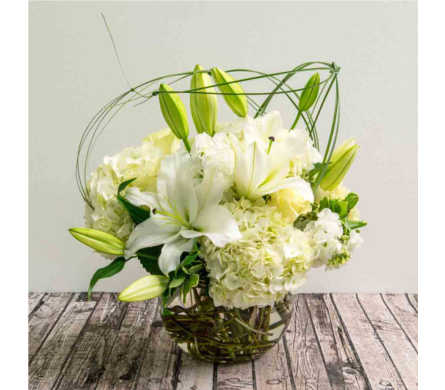 Sympathy Designs Delivery Houston Tx The Empty Vase Of Houston