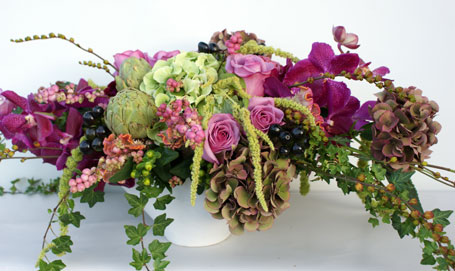 Touch of the Winery' in Victoria BC, Fine Floral Designs