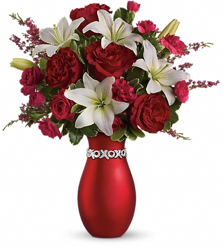 Teleflora's XOXO Bouquet with Red Roses in Orleans ON, Crown Floral Boutique