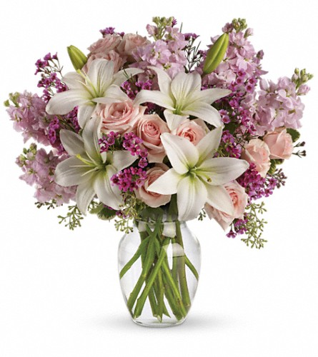 Teleflora's Blossoming Romance in Olean NY, Mandy's Flowers