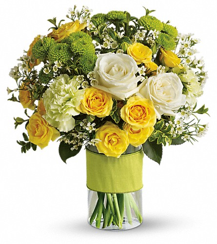 Your Sweet Smile by Teleflora in San Mateo CA, Dana's Flower Basket