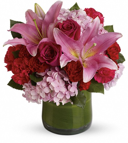 Fabulous in Fuchsia in Weymouth MA, Bra Wey Florist