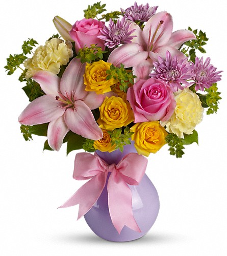 Teleflora's Perfectly Pastel in Morgantown WV, Coombs Flowers