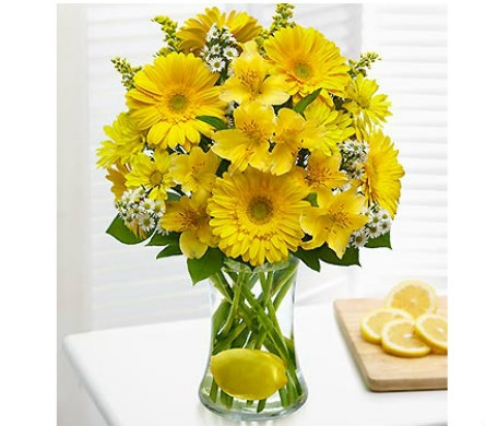 Make Lemonade™ in a Vase dans Watertown CT, Agnew Florist