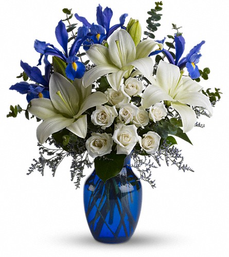 Blue Horizons in Oakland CA, J. Miller Flowers and Gifts