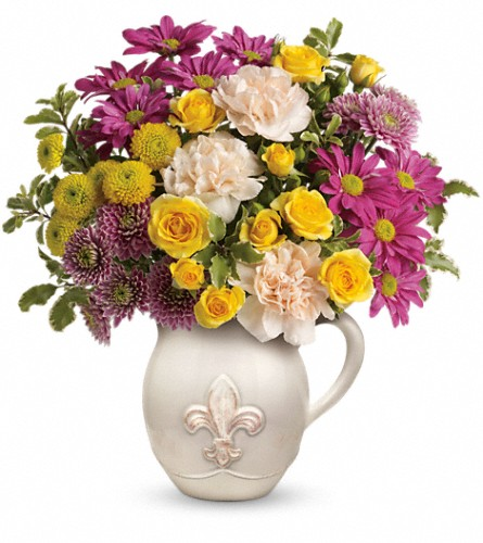 Teleflora's French Fancy Bouquet in Woodbridge NJ, Floral Expressions