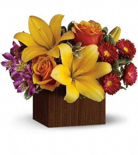 Teleflora's Full of Laughter in Largo FL, Rose Garden Florist